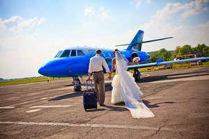 Молодожены отправляются в свадебное путешествие