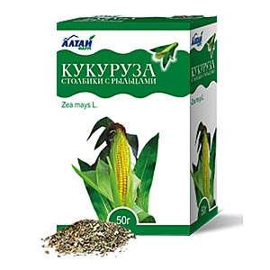 Corn stigma preparation