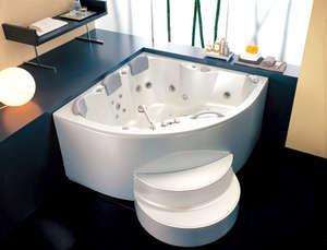 Acrylic Bathtub with Steps