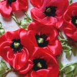 Красота без лишних усилий: видео-уроки вышивания атласными ленточками