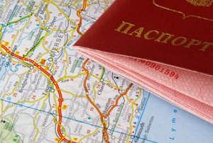 Паспорт на карте