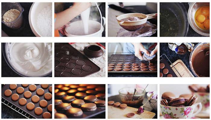 Рецепт пирожное макарон в домашних