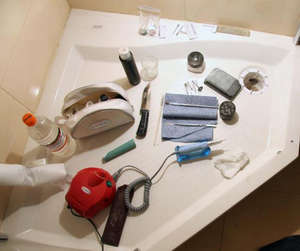 Acrylic Bath Repair Tools