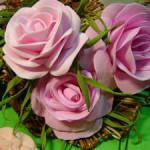 Урок по изготовлению цветов из Фоамирана (фото и видео инструкция)