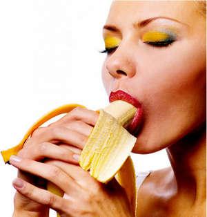 урок минета с бананом фото