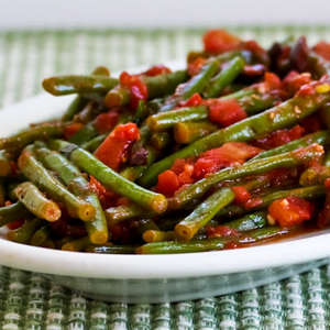 Beans with Tomatoes