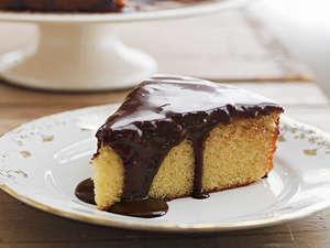 Кусочек бисквитного торта