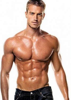 Мускулистая фигура мужчины