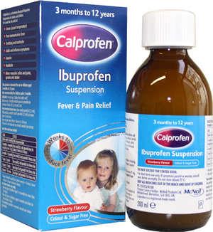 Ibuprofen for children suspension