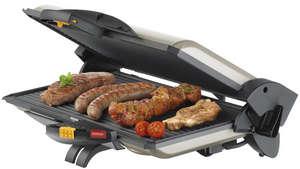 Сосиски и мясо в электрогриле