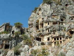 Antique city Phaselis