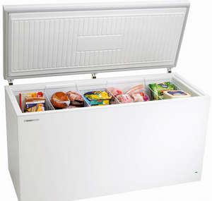 Horizontal freezer