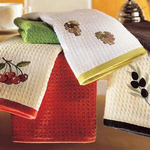 Как отстирать кухонные полотенца от жира легко и очень быстро?