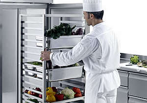 Freezers for the restaurant