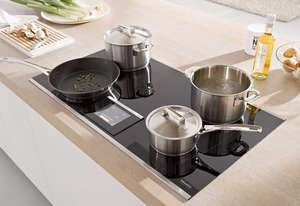 Cookware on the stove