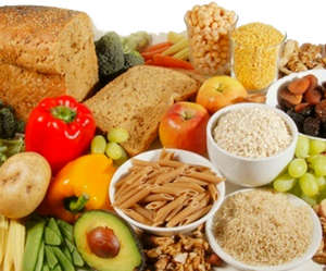 Products with soluble fiber