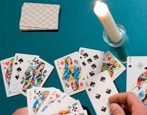 Unfolding cards