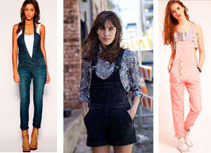 Different blouses for overalls