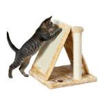 Как сделать когтеточку и домик для кота своими руками