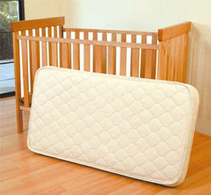 Mattress for baby bed