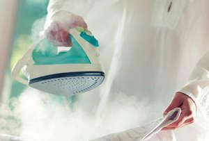 Steam ironing