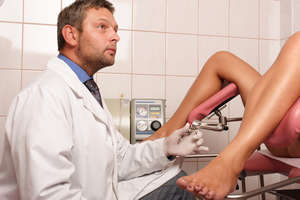 Reception at the gynecologist