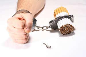 Handcuffs and cigarettes