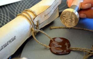 Создание печати на свертке
