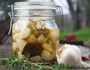 Garlic in a can
