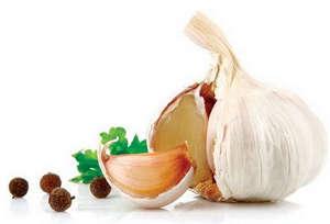 Ingredients for pickling garlic