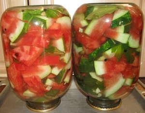 Inverted jars