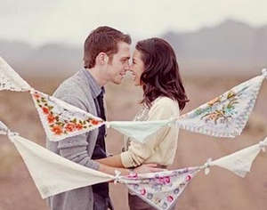 Spouses and calico scarves