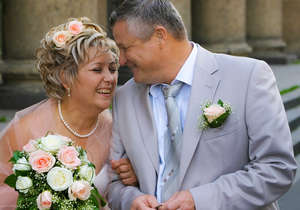 Spouses celebrate anniversary