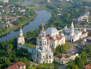 Torzhok from a height