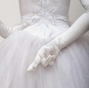 Невеста скрестила пальцы
