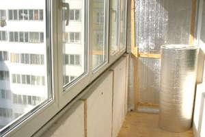 Loggia insulation