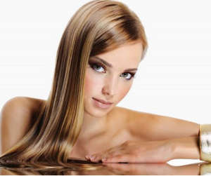 Shiny hair after gelatin