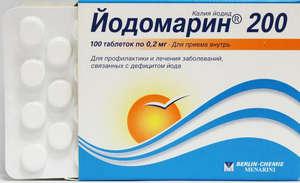 Как пить йодомарин 200 при беременности