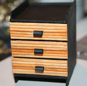 Matchbox Chest of Drawers