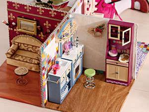 Мебель для кукол барби своими руками 886