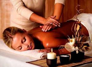 Расслабляющая обстановка для массажа