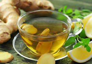 Ginger and Lemon Green Tea