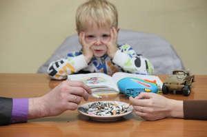 Smoking with children