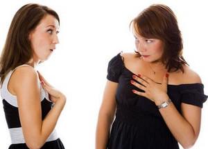 Девушка подозревает подругу в воровстве