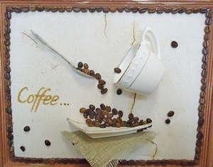 Panel of coffee