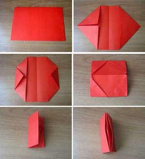 Сделать кошелёк из бумаги своими руками видео