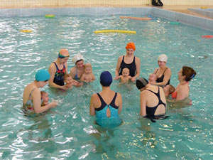 Classes in the pool