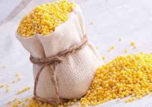 Bag of millet