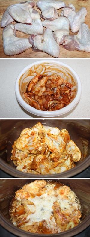 Крылышки жареные – кулинарный рецепт