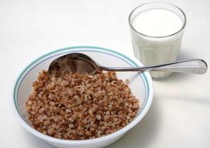 Buckwheat and kefir